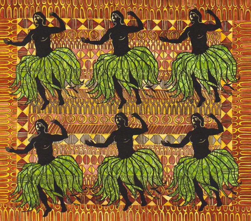 Kahiko Hula by kaikolani