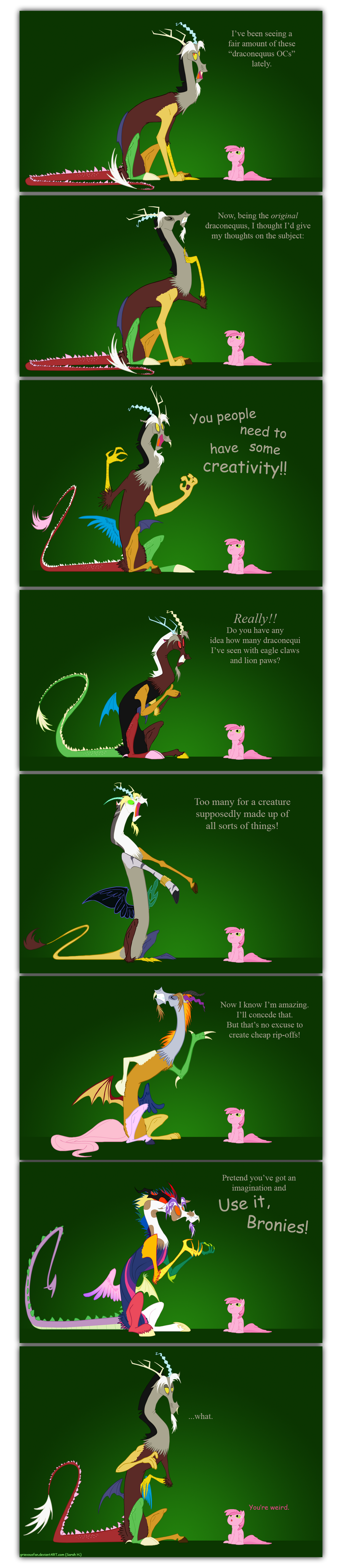 Discord on Draconequus OCs by grievousfan