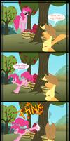 In which Pinkie Pie bucks apples