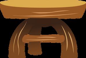 MLP Resource: Fluttershy's table by grievousfan