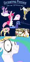 Drawing Ponies: The grievous Way by grievousfan