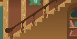 MLP Background: Fluttershy's staircase