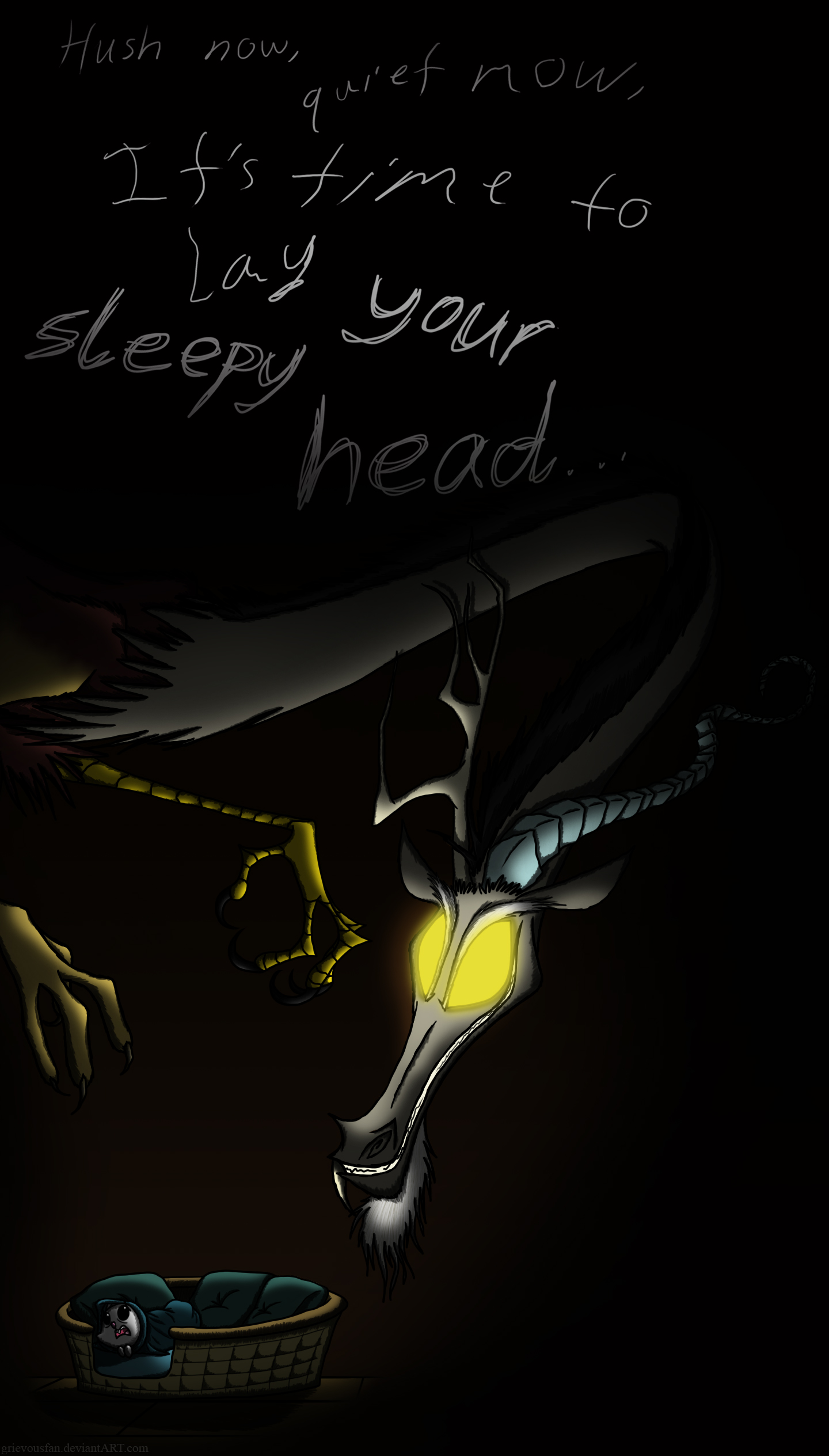 Go To Sleep by grievousfan