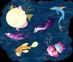 The Fishy 6 by grievousfan