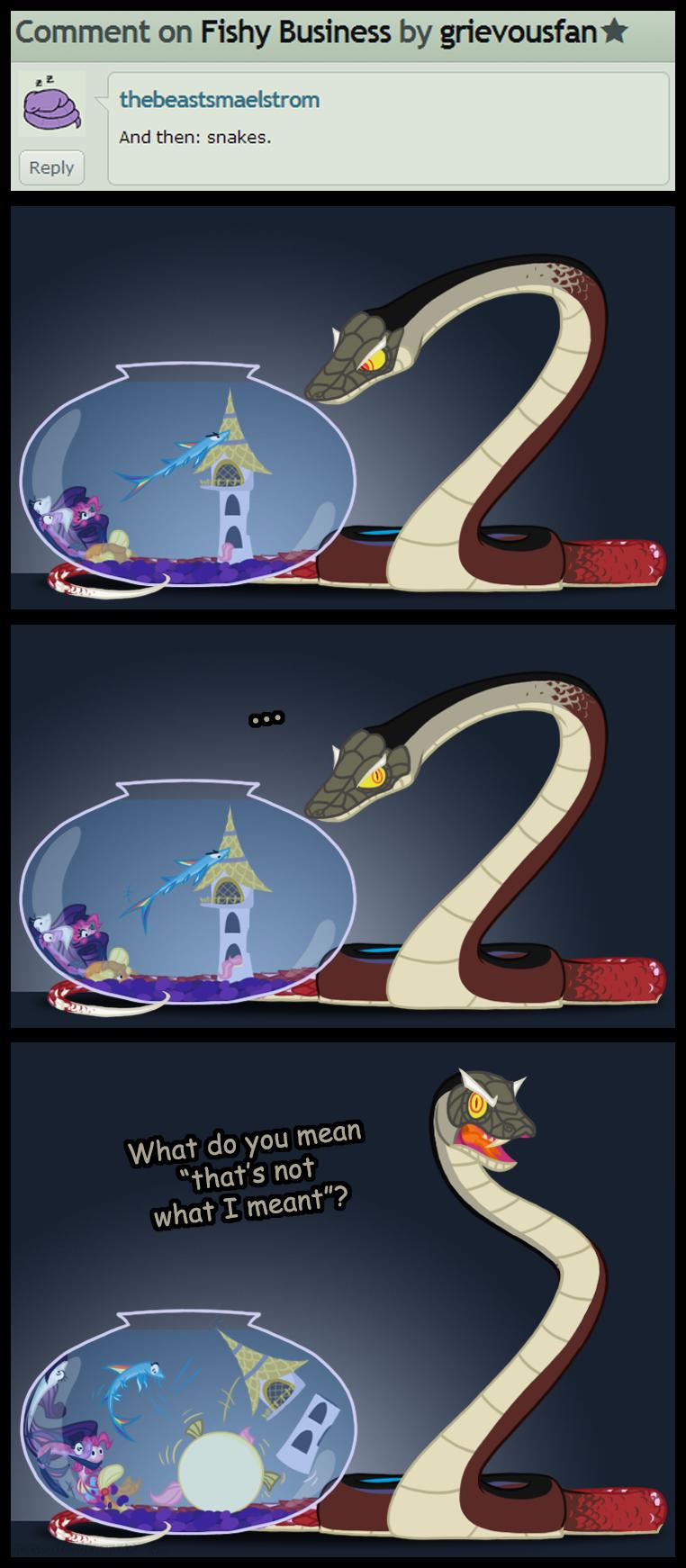 Snakes! by grievousfan