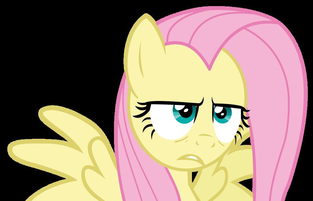 Fluttershy does not approve by baumkuchenpony-flpd by grievousfan