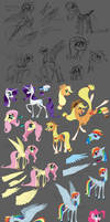 More pony tests