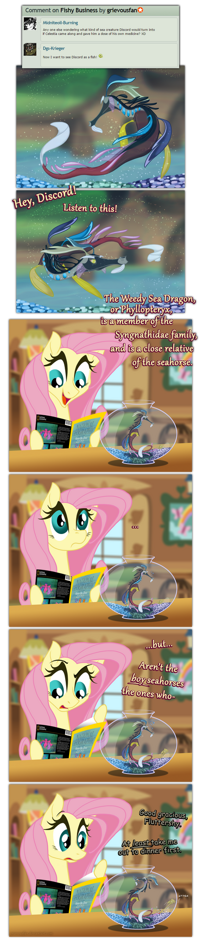 Not So Swimmingly by grievousfan