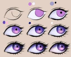 Eye tutorial by yokava