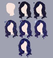 Hair tutorial by yokava