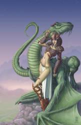 Dragon Rider by DPIStudios