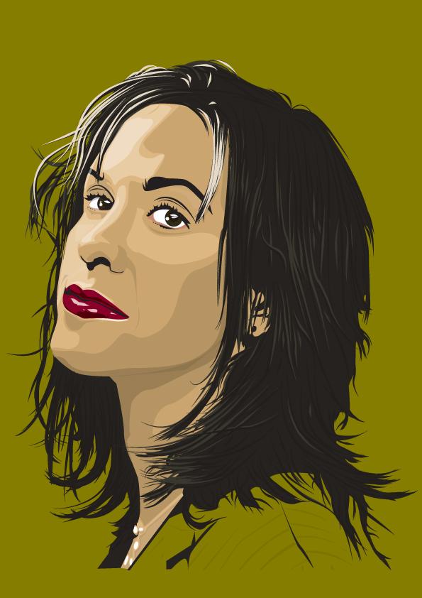 Alanis Morissette FaceColour 2 by Stone-Krush