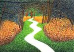 pointillism by Levitas-Rain