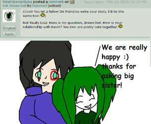 Ask Green Doll #7 by Flamme2
