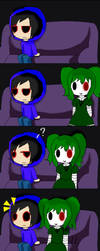 Kevin and Green Doll Little Comic by Flamme2