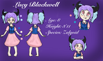 [Commission] Lucy Blackwell reference sheet by Flamme2