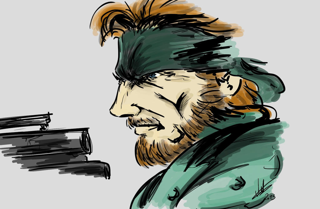 Solid Snake by arthurfernandes