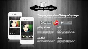 Urban Camera - App Website Design