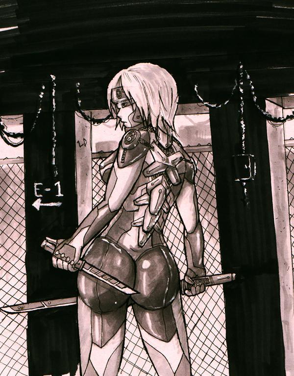 Cyborg Girl by Lu-De