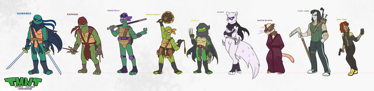 TMNT REDESIGNS