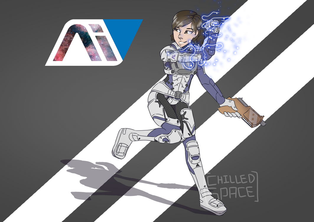 Ryder [Mass Effect: Andromeda] by Chilled-Space