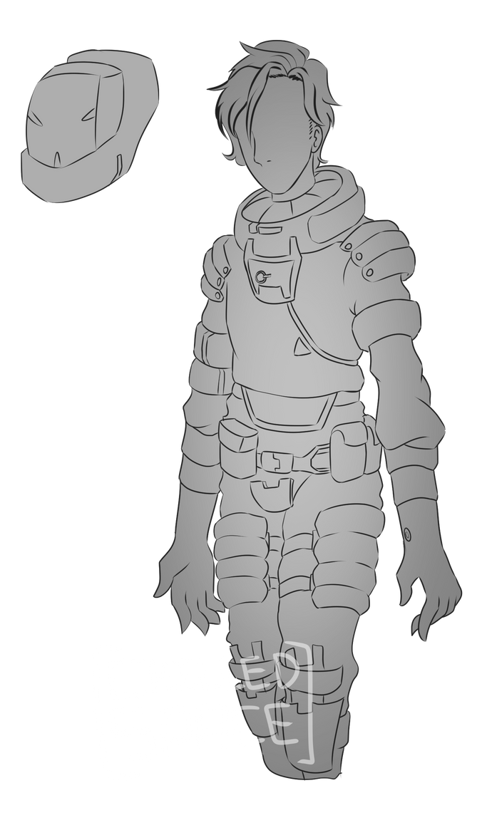 EVA Suit Concept by Chilled-Space