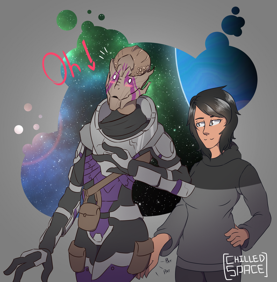 Sara and Vetra by Chilled-Space