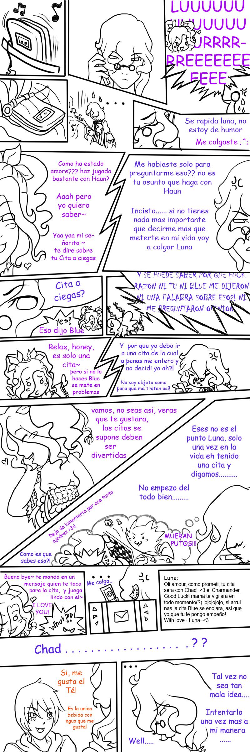 Cita a ciegas part 1 by Bludile