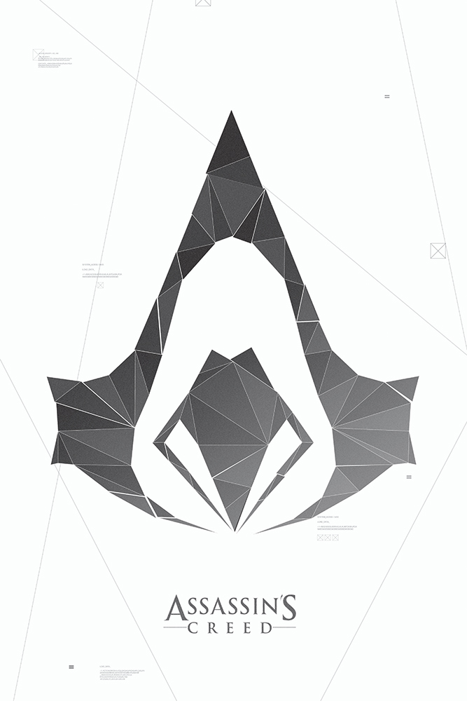 Assassins Creed Symbol Poster By Acturul On Deviantart