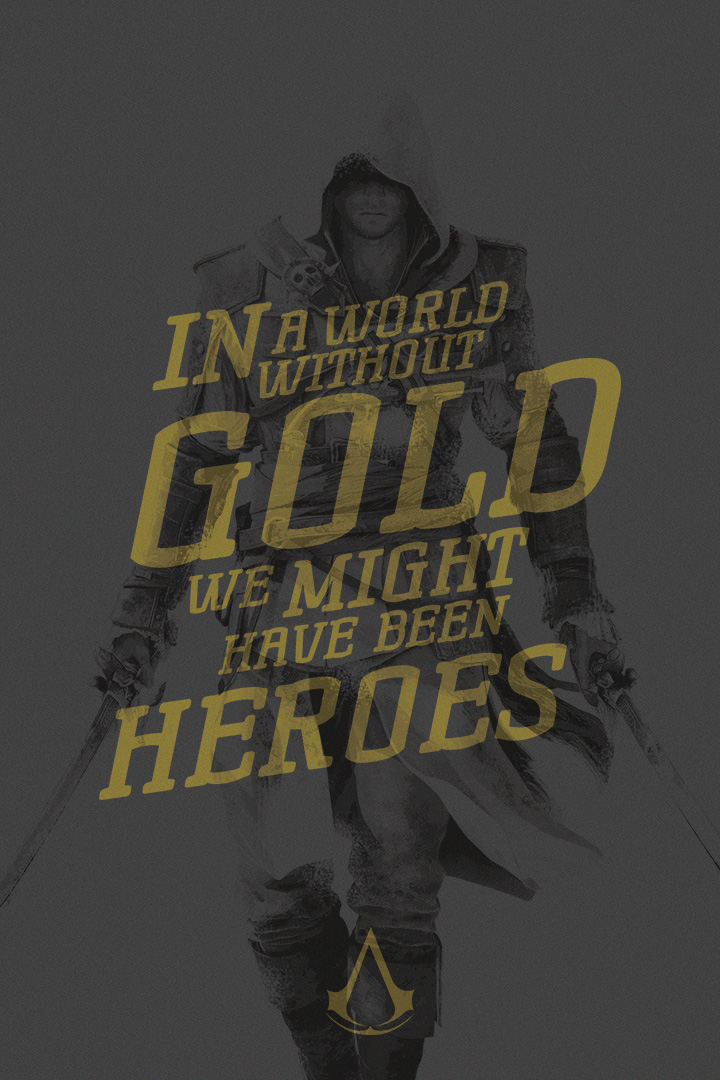 Assassin S Creed Quote Poster Edward By Acturul On Deviantart