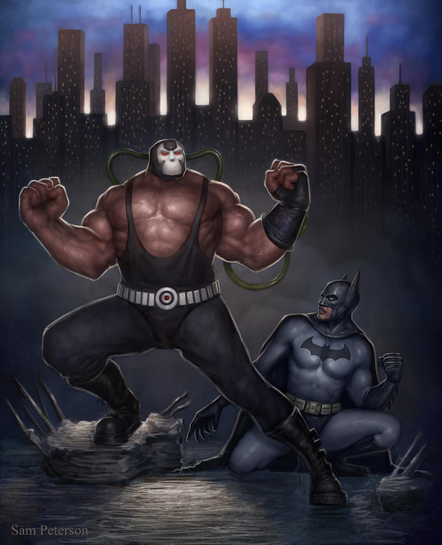 Bane and the Bat by Sam-Peterson