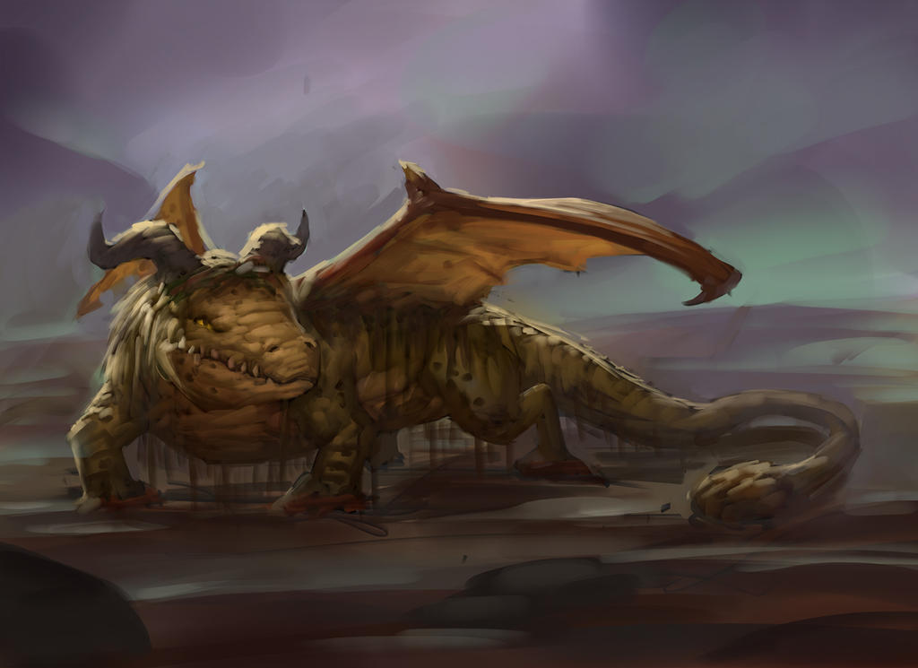 Daily Swamp Dragon by Sam-Peterson
