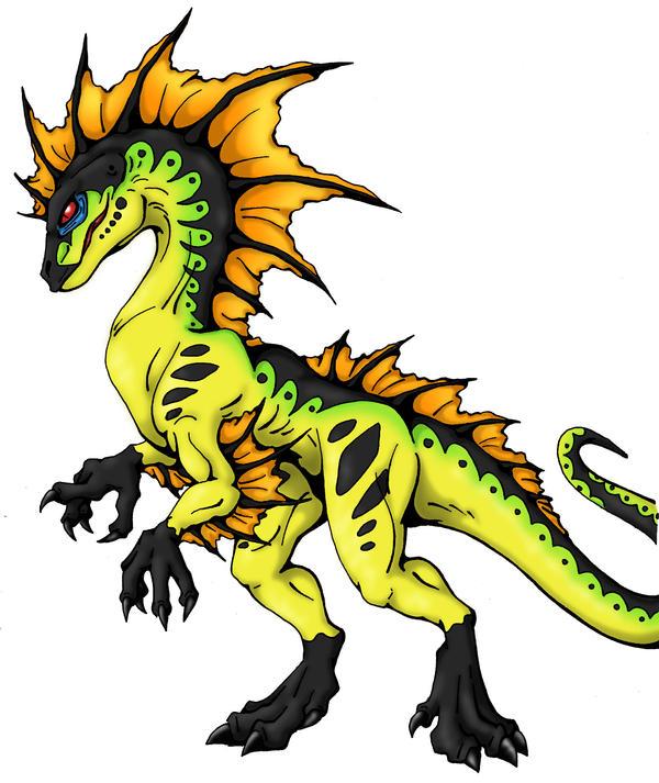 Tropical Raptor by Yuugi90