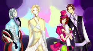 Reverie genderbend by Amiralo