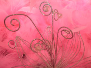 Sparkling detail in pink 1