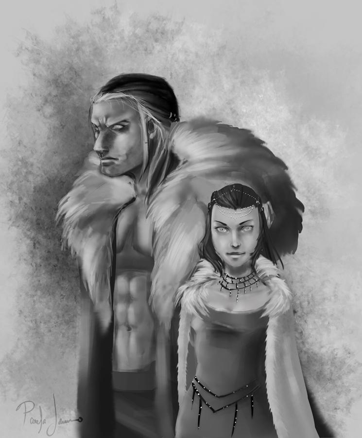 Barennon and child by ZenRumi