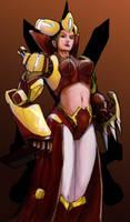 Queen-syborg by Miru302