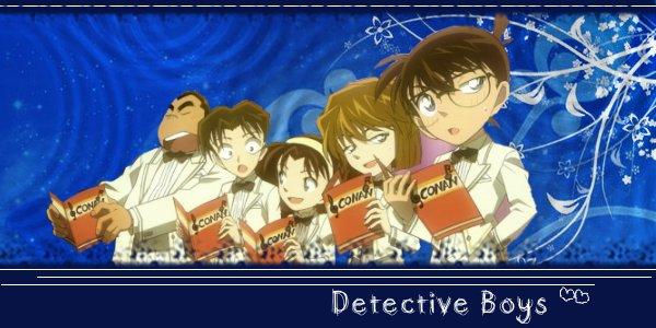 Detective Boys Signature by Kaomianbao