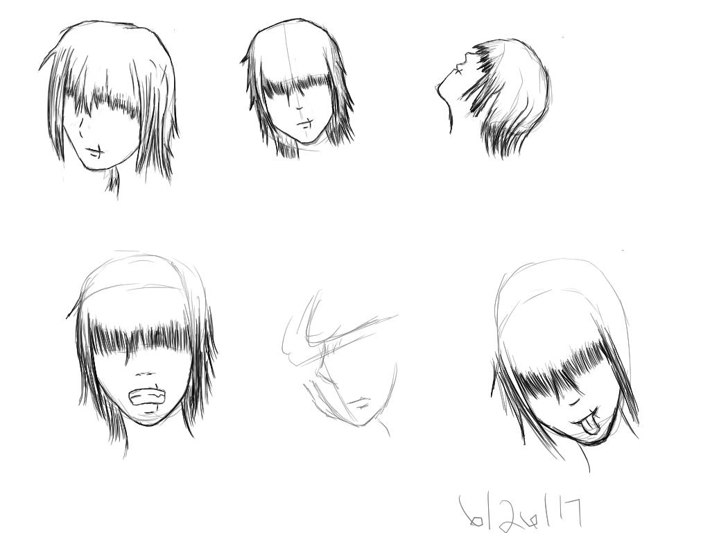 Tablet Growth 11 -LOH Comic: Akito Character Study by SleepyRaeLi21