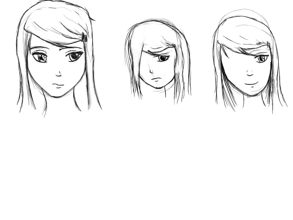 Tablet Growth 12 - LOH Akane Character Study by SleepyRaeLi21