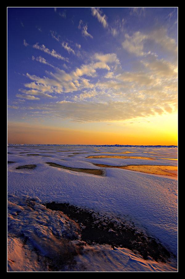 A Winter Sunrise by Julian-Bunker