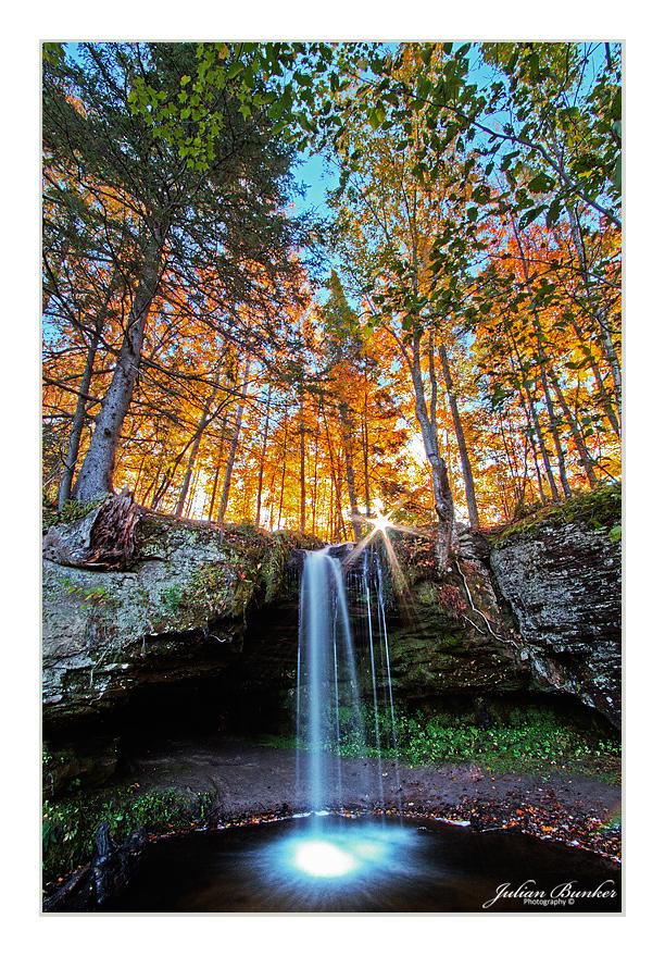 Surreal Waterfall by Julian-Bunker