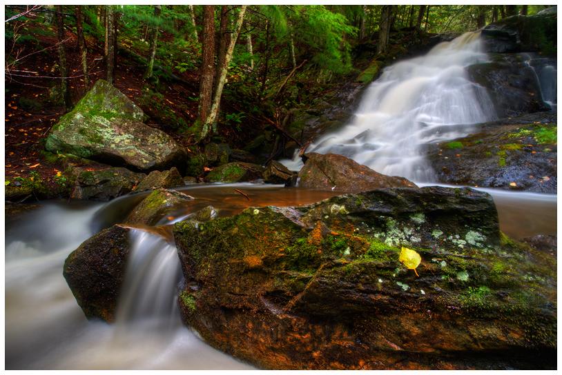 Serene Falls by Julian-Bunker