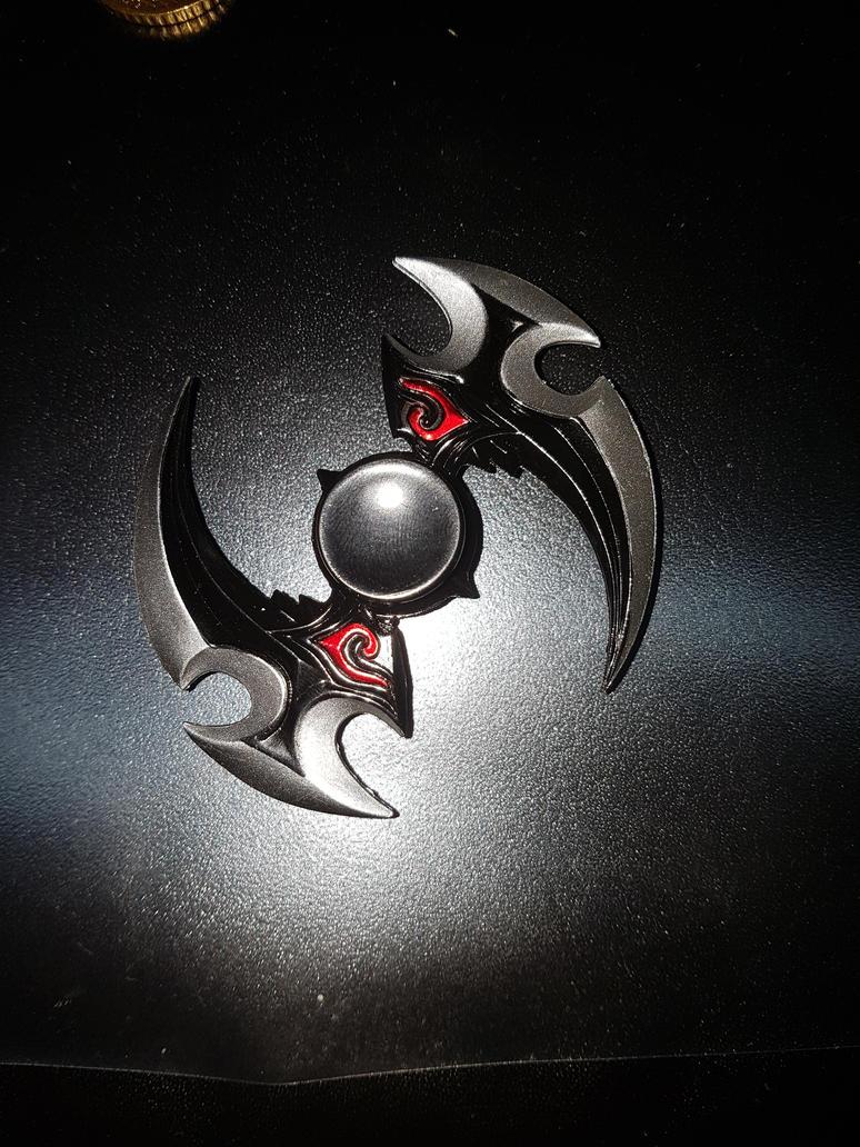 my fidget-spinner by queenmoonbutterfly on DeviantArt