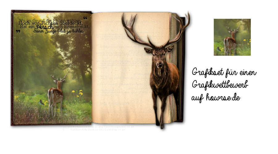 Deer Layout by VitosNumberOne