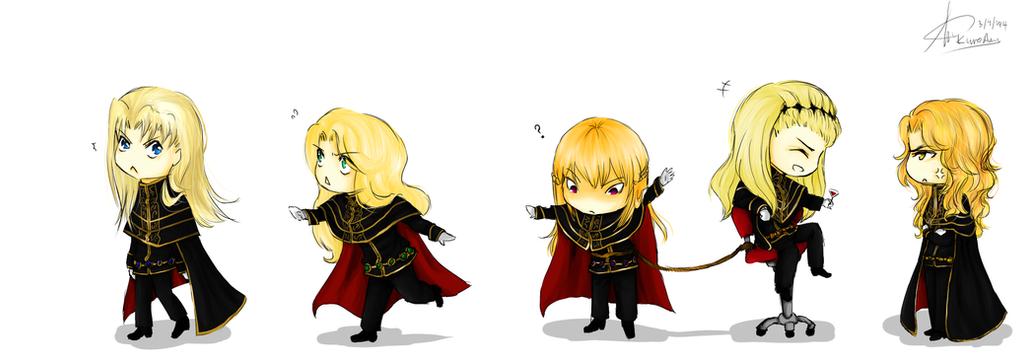 Blondies.... by KuroAmy