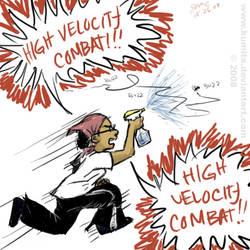 High Velocity Combat by ridiqlum