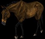 pixel horse - Cheyenne by AguaZero
