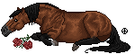 pixel horse - if i die young by AguaZero