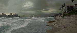 Matte Painting - Beach WIP